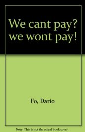 We can't pay? we won't pay!